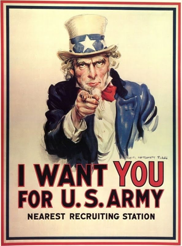I-Want-You-for-U.S.-Army Cartel Propagandístico